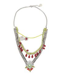 Ki6? Who Are You? - Multicolor Necklace - Lyst
