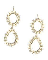 Mallarino | Metallic Earrings | Lyst
