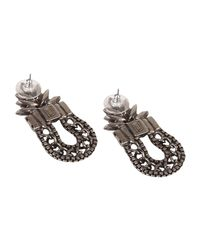 DANNIJO - Metallic Earrings - Lyst
