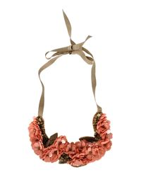INTROPIA - Green Necklace - Lyst