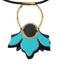 Marni - Black Necklace - Lyst