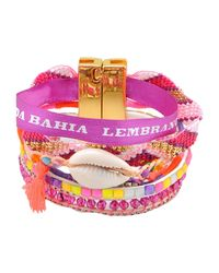 Hipanema | Purple Bracelet | Lyst