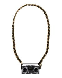 Moschino | Black Necklace | Lyst