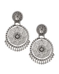La Perla - Metallic Earrings - Lyst