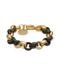 First People First - Black Bracelet - Lyst