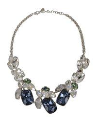 Atelier Swarovski - Blue Necklace - Lyst