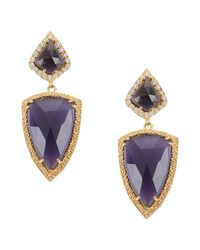 First People First - Purple Earrings - Lyst