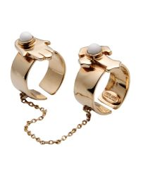 Roberto Cavalli   White Ring   Lyst