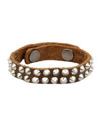 HTC - Brown Bracelet - Lyst