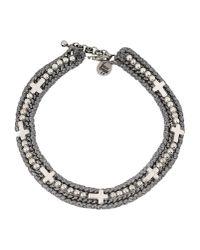 Venessa Arizaga | Gray Necklace | Lyst