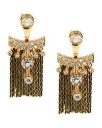 Ca&Lou   Metallic Earrings   Lyst