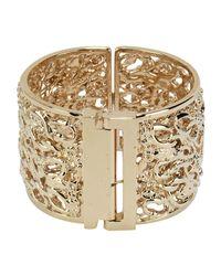 Elisabetta Franchi - Metallic Bracelet - Lyst