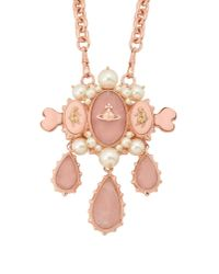 Vivienne Westwood | Pink Necklace | Lyst