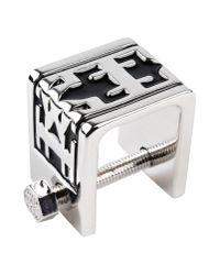 KTZ | Metallic Ring for Men | Lyst