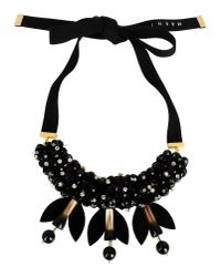 Marni | Black Necklace | Lyst