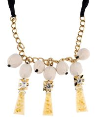 Marni | Yellow Necklace | Lyst