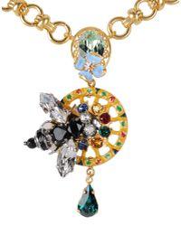 Dolce & Gabbana | Metallic Necklace | Lyst