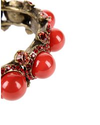 Lanvin | Red Bracelet | Lyst