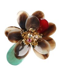 DSquared² | Multicolor Brooch | Lyst