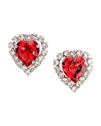 Christopher Kane - Red Earrings - Lyst