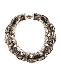 Tataborello   Metallic Necklace   Lyst