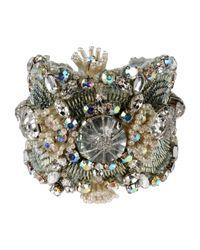 Jenny Packham - Green Bracelet - Lyst
