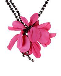 Lanvin | Pink Necklace | Lyst