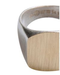 Maison Margiela - Metallic Ring for Men - Lyst