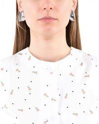 Xenia Bous   Metallic Earrings   Lyst