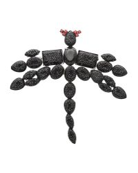 First People First   Black Brooch   Lyst