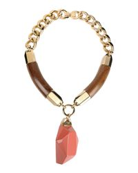 DSquared² | Pink Necklace | Lyst