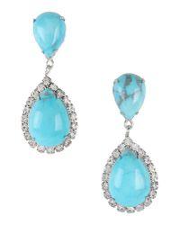 Elizabeth Cole - Blue Earrings - Lyst