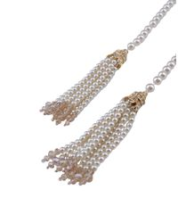 Kenneth Jay Lane - White Necklace - Lyst