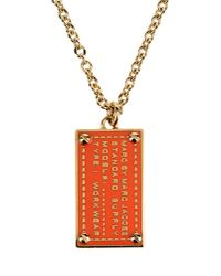 Marc By Marc Jacobs | Orange Necklace | Lyst