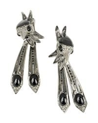 Roberto Cavalli | Black Earrings | Lyst