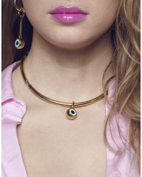 Maria Francesca Pepe - Metallic Necklace - Lyst