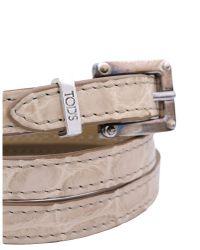 Tod's - Natural Bracelet - Lyst