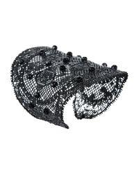 Valentino - Black Bracelet - Lyst