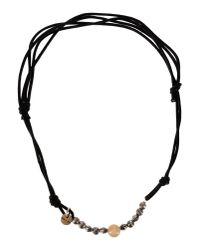 Eleventy Black Necklace