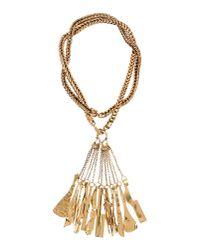 Céline Metallic Necklace