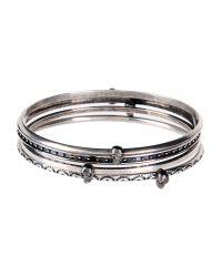 Alexander McQueen - Metallic Bracelet - Lyst