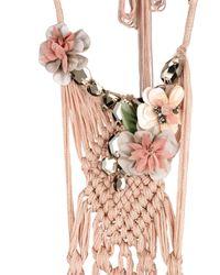 Alberta Ferretti Pink Necklace