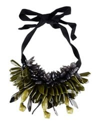 P.A.R.O.S.H. Green 'ossyne' Necklace
