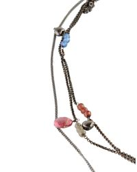Twin Set - Multicolor Necklace - Lyst