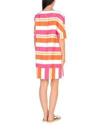 Twin Set Multicolor Beach Dress