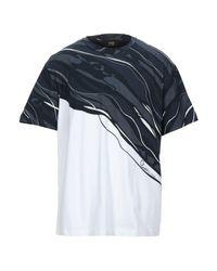 Class Roberto Cavalli Blue T-shirt for men