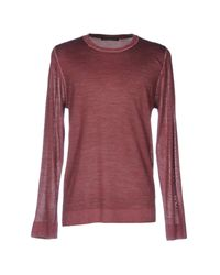 Drykorn Purple Sweater for men
