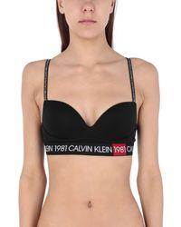 Sujetador Calvin Klein de color Black