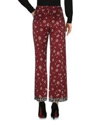 Etro Red Casual Pants