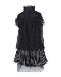 Sacai Black Short Dress